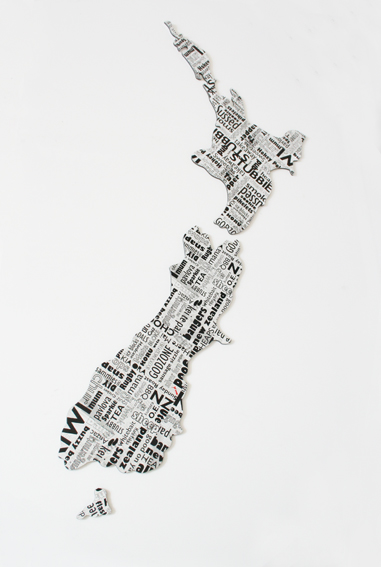 Newspaper acm nz wall art